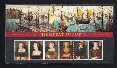 Great Britain Scott 1729a MNH Pack -Henry VIII's Wives