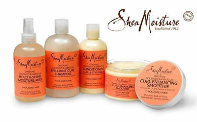Shea Moisture Coconut & Hibiscus Shampoo/ Conditioner/ Smoothie/ Milk/ Souffle**