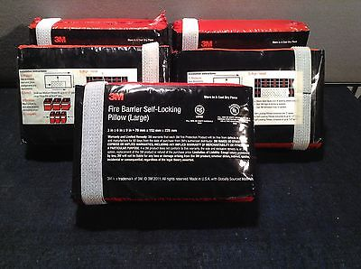 3M Fire Barrier Self-Locking Pillow (Large) QTY 5