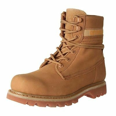 New Caterpillar Women's Nubuck Leather Wide Casual Boot Colorado Boots Cheap