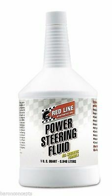 Red Line 30404 Synthetic Power Steering Fluid ***1 QUART***