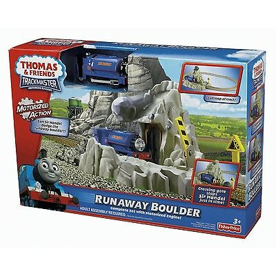 Thomas & Friends Trackmaster Runaway Boulder SIR HANDEL SET