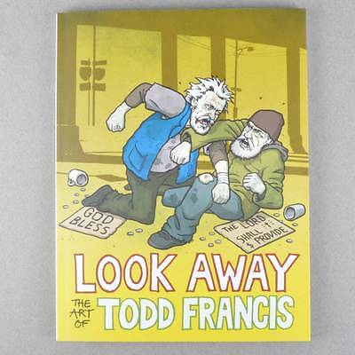 LOOK AWAY The Art of Todd Francis SKATE BOOK AUST SELLER