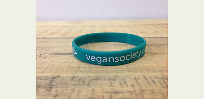 The Vegan Society Wristband - Green