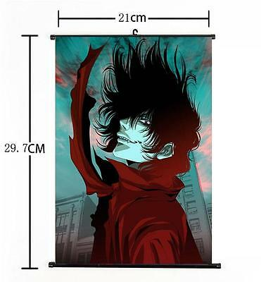 Hot Japan Anime Hellsing Alucard Cosplay Home Decor Poster Wall Scroll 21*30CM