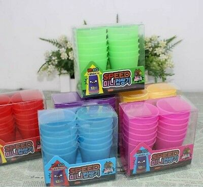 12 Pcs Mini Speed Cups Quick Game Toy Competition Playing Friend