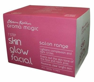 Aroma Magic Skin Glow Facial Kit - 439gm Gently Remove the Dead Skin Layers
