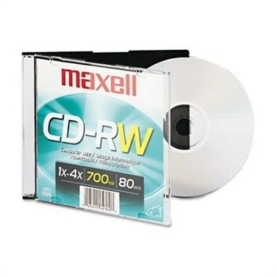 CD-RW, Branded Surface, 700MB/80MIN, 4x - x 2
