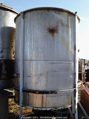 1550 Gallon Stainless Steel Water Tank
