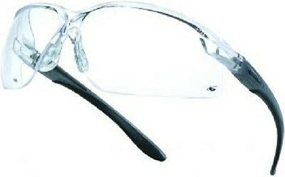 10 x Bolle AXIS Safety Glasses Spectacles Anti-Scratch  CLEAR Lens AXPSI