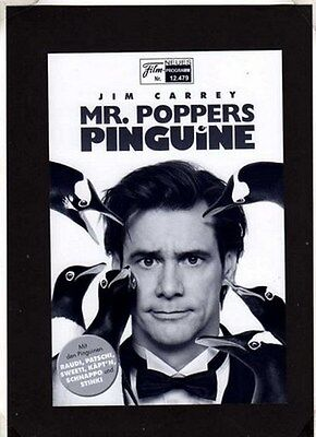 NFP Neues Filmprogramm 12479 Mr. Poppers Pinguine - Jim Carrey