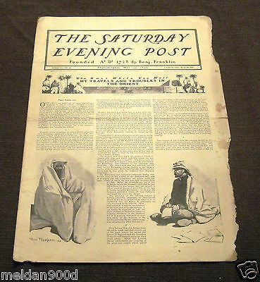 Antique THE SATURDAY EVENING POST Magazine May13 1899   Issue * SHIPS FREE W/BIN