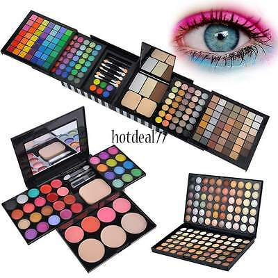 Cosmetic Full Colors Eye Shadow Makeup Shimmer Matte Eyeshadow Palette Set