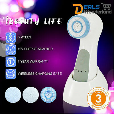 5-1 Multifunctional Electric Face Facial Cleansing Brush Spa Skin Care massage