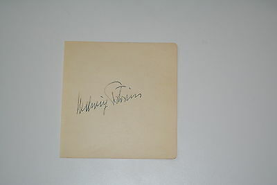 HEDWIG PISTORIUS +2004  signed Autogramm In Person ALBUMBLATT