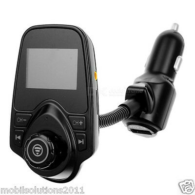 T10 Bluetooth FM Transmitter Kit With One USB Port For All Smart Phones.