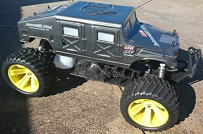 CEN Racing Monster Truck 1/5th RC RTR W/2.4Ghz / 4WD 30cc Petrol Engine