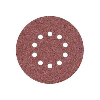 25 Disques abrasifs pour ponceuses girafes - Ø 225 mm - G40–240 - 10 trous