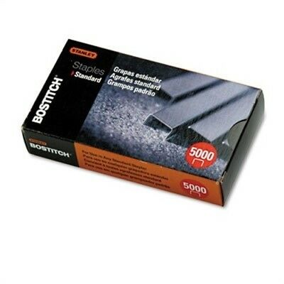 Full Strip Standard Chisel Point Staples, 1/4 Inch Leg Length, 5,000/Box