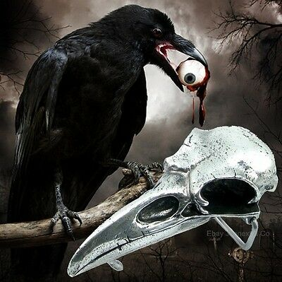 Alchemy B100 RABESCHADEL skull raven new with tags gothic belt buckle