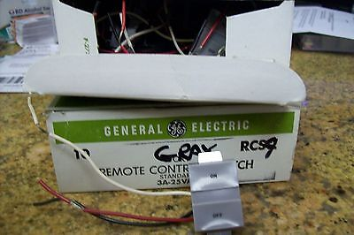 (Lot Of 2)  ----- Gray   Ge Rcs9 Low Voltage Switch  - Rr7 Systems