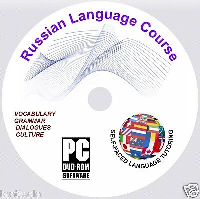 Learn Russian Language Course - Russian Course On Dvd
