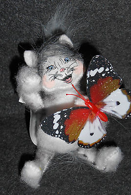Annalee doll - Kitty and Butterfly