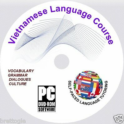 LEARN Vietnamese LANGUAGE COURSE -  3 X Vietnamese COURSES ON DVD