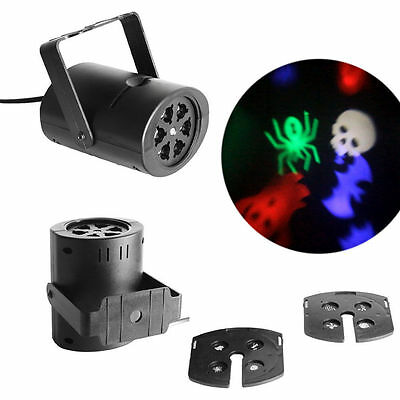8 Patterns 4W Laser Projector RGBW LED Stage Lighting DJ Xmas Party Effect Light