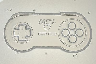 Flexible Resin Mold Retro Video Game 16 Bit Controller SNES Player Mould