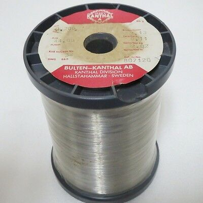 Kanthal A Wire 0.2mm 32 Gauge AWG Resistance Heating 44ohm/m=13.4ohm/ft 2kg~5lb