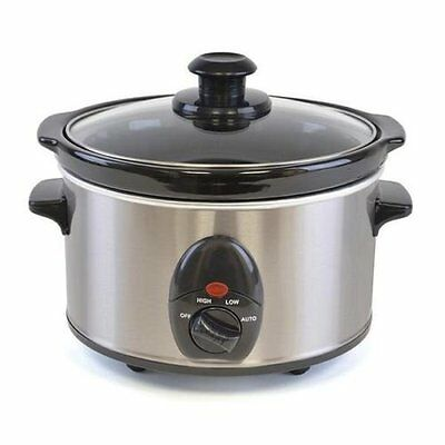 New Slow Cooker Electric 1.5L Food Cooking Pot Small Kitchen Appliance Device