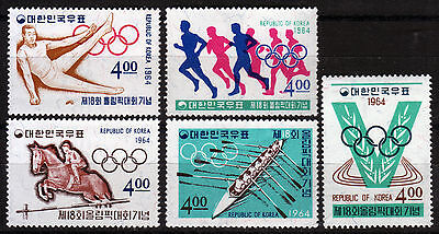 Korea-Sued 457-61 **, Olympiade Sommer 1964