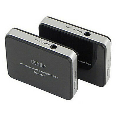 2.4GHz Wireless Music Audio Adapter Box Transmitter Receiver for TV Speakers