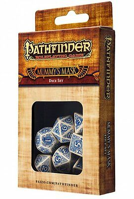 Q-Workshop Pathfinder RPG Dice Set (7 Polyhedral) Mummy's Mask SPAT71