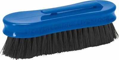 Weaver Leather Small Pig Face Brush, Blue