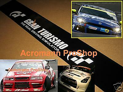 "56"" 142cm big windshield decal sticker nurburgring d1 for gran turismo R35 R8 gt"
