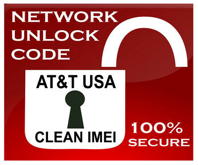 NETWORK UNLOCK CODE AT&T Asus ZenFone 2E  Clean Imei FAST Z00D AT&T