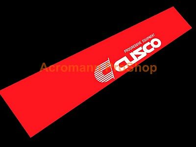 "53"" Cusco Windshield Banner Decal Sticker sun visor window JDM wrx evo gtr civic"