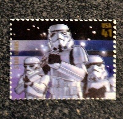 2007USA  #4143o  41c  Star Wars - Stormtroopers Single Stamp - Mint NH