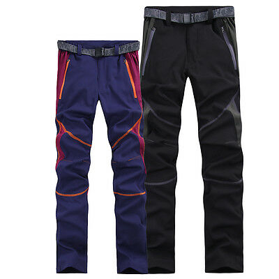 Womens Quick Dry Elastic Anti-UV Stretch Pants Hiking Fishing Outdoor Trousers