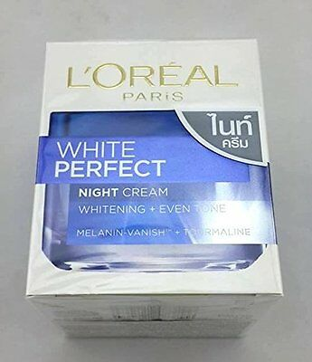 L'Oreal White Perfect Fairness Revealing Soothing Night Cream - 50ml