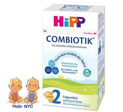 HiPP BIO Combiotic Stage 2 Organic Baby Formula  FREE PRIORITY SHIPPING 03/2019