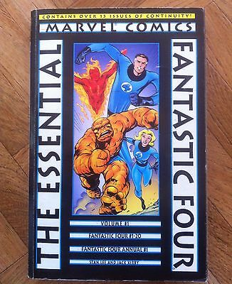 The Essential Fantastic Four Vol 1 First Printing Fine (A44)