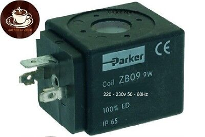 SOLENOID VALVE COIL for PARKER ZB09 9w 230v group & Inlet valves