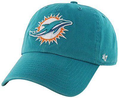 NFL Miami Dolphins 47 Clean Up Adjustable Hat, Neptune, One Size