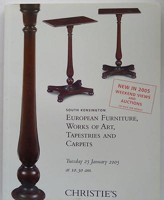 Christie's Auction Catalog Frn-5750-European Furniture/Art Jan 2005 S Kensington