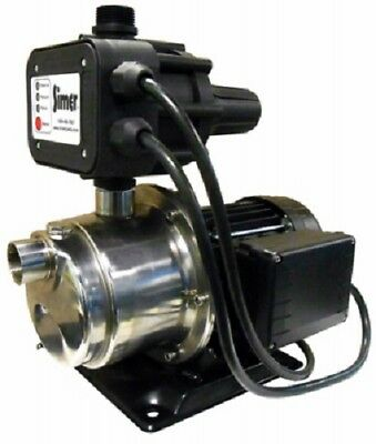 Pentair 3075Ss Simer 3/4Hp Total Home Water Pressure Booster Pump