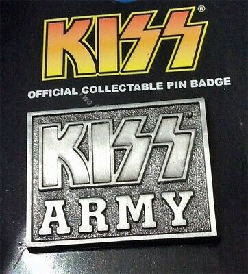 Kiss Army Rock Group Collector Pin