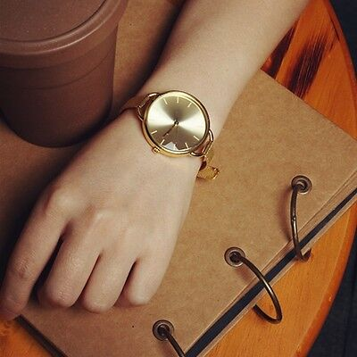 Fashion New Classic Women Quartz Stainless Steel Analog Wrist Watch Bracelet